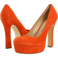 Shoes, Fashion, orange