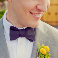 yellow, black, Grey, Boutonniere, Ball, Billy, Bowtie, Erin alan