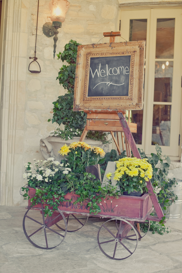Flowers & Decor, Flowers, Welcome, Wagon, Chalkboard, Erin alan