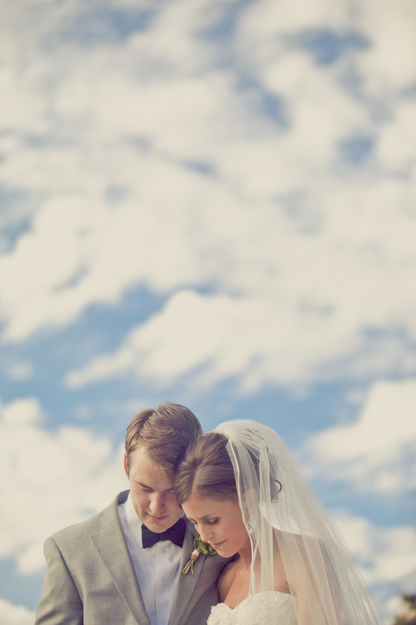Bride, Groom, Clouds, Erin alan