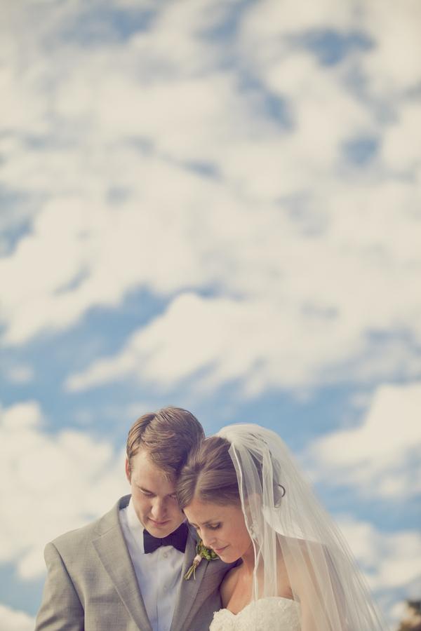 Bride, Groom, Clouds, Erin alan