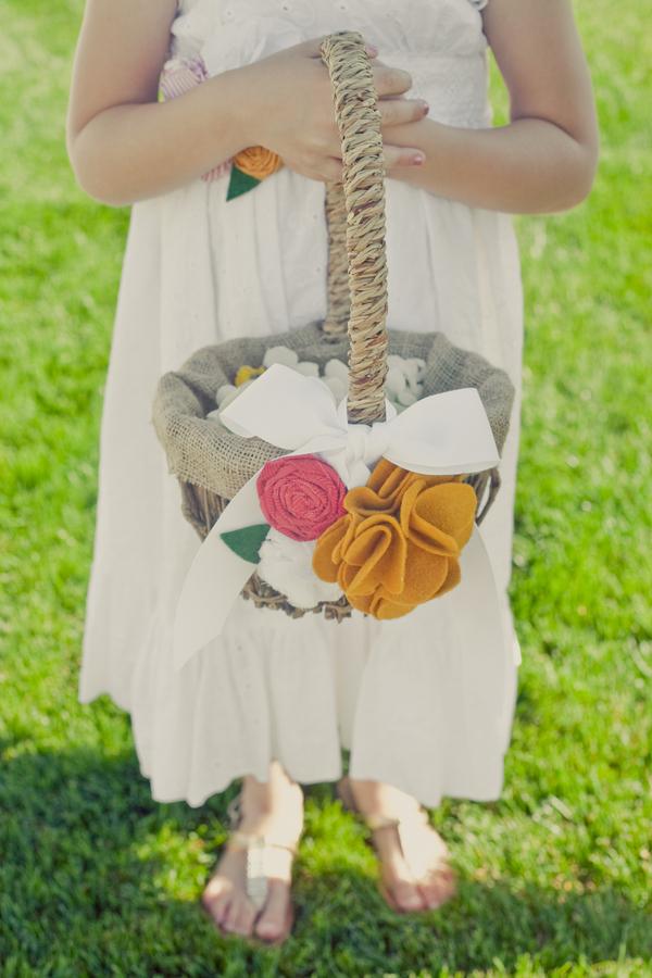 Flowers & Decor, Flower, Girl, Sash, Basket, Erin alan