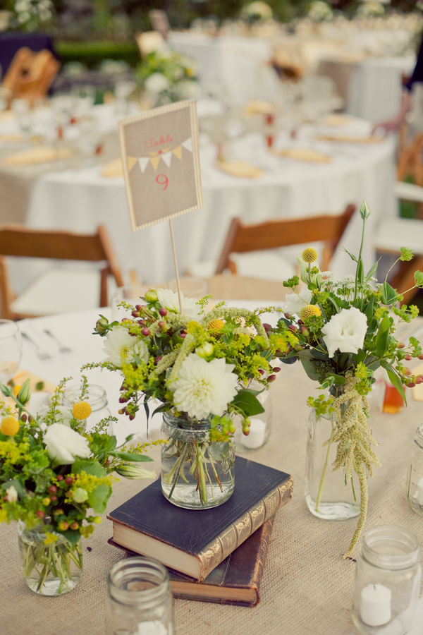 Centerpieces, Garden Wedding Flowers & Decor, Vintage Wedding Flowers & Decor