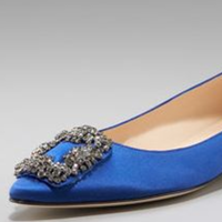 Shoes, Fashion, blue, silver