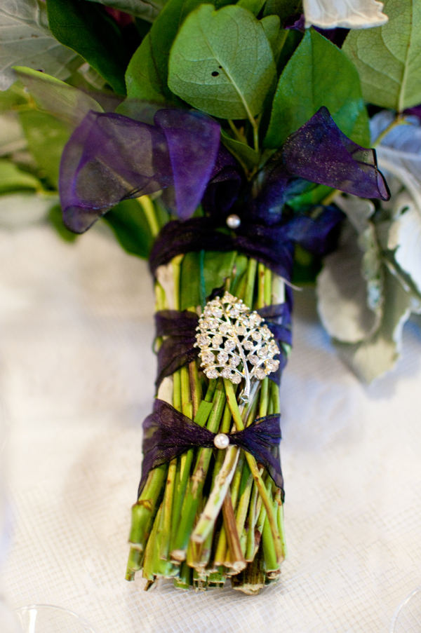 Ceremony, Flowers & Decor, purple, silver, Ceremony Flowers, Flowers