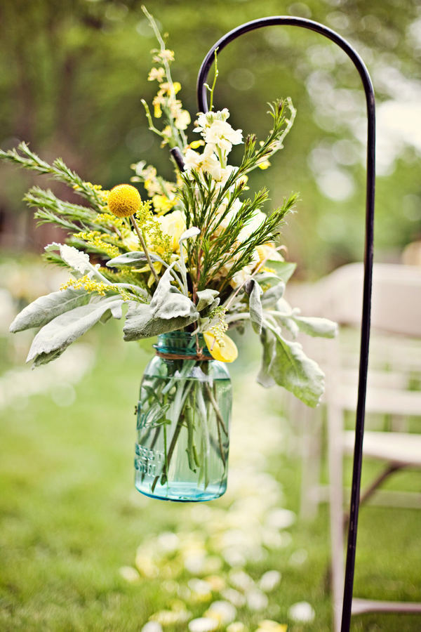 Ceremony, Flowers & Decor, yellow, green, Ceremony Flowers, Flowers