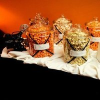 Reception, Flowers & Decor, Favors & Gifts, Favors, Dallas, Theater wedding, Level two, Popcorn bar