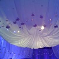 Reception, Flowers & Decor, blue