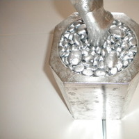 Reception, Flowers & Decor, silver, Base