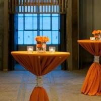 Reception, Flowers & Decor, orange, silver