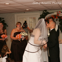 Ceremony, Flowers & Decor, white, orange, red, brown, gold