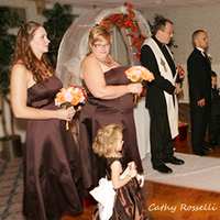 Ceremony, Flowers & Decor, Bridesmaids, Bridesmaids Dresses, Fashion, brown
