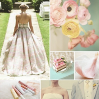 yellow, pink, Inspiration board