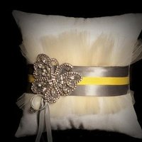 Ceremony, Flowers & Decor, white, yellow, silver