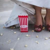 Favors & Gifts, white, red, Favors, Popcorn, Popcorn box