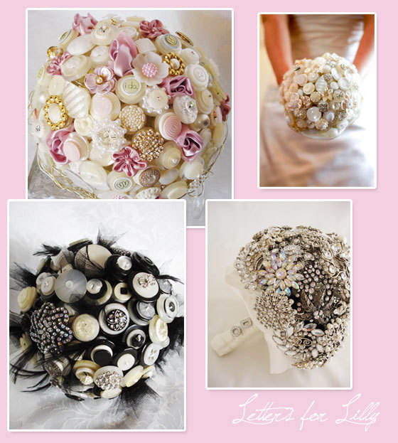 Flowers & Decor, Jewelry, white, pink, black, Brooches, Bride Bouquets, Flowers, Bouquet, Button, Brooch