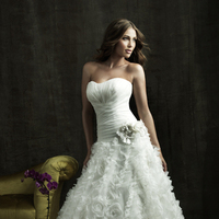Wedding Dresses, Fashion, white, dress, Wedding, Allure, 8810