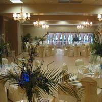 Reception, Flowers & Decor, green, gold
