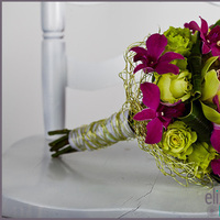 Flowers & Decor, pink, green, Flowers