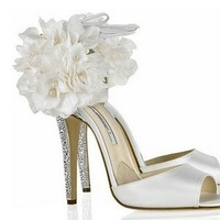 Jewelry, Shoes, Fashion, white, silver