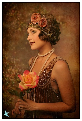 Vintage, 1920s, Flapper