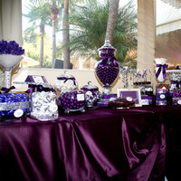 Reception, Flowers & Decor, purple, Candy, Buffet, Inspiration board, Bar