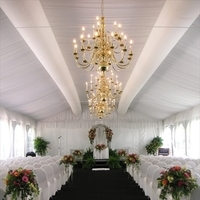 Ceremony, Flowers & Decor, white