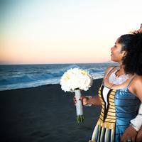 blue, Beach, Wedding, African