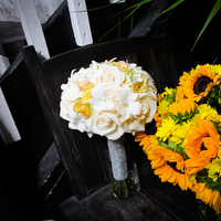 Flowers & Decor, yellow, Flowers, Roses, Sunflowers