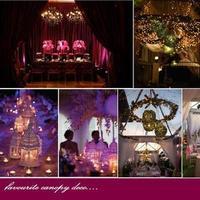 Reception, Flowers & Decor, pink, purple, Inspiration board
