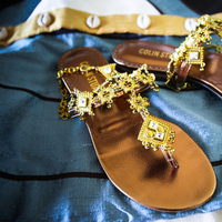 Wedding Dresses, Shoes, Fashion, blue, gold, dress, Bride, African, Sandle