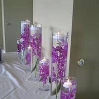Reception, Flowers & Decor, purple, Centerpieces, Centerpiece