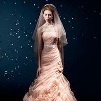 Wedding Dresses, Fashion, pink, dress, Wedding, Kitty, Chen, Charlotte, Blush