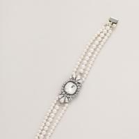 Jewelry, white, Bride, Haute, Braclet