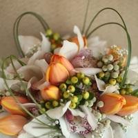Flowers & Decor, orange, Bride Bouquets, Flowers, Bouquet, Bridal