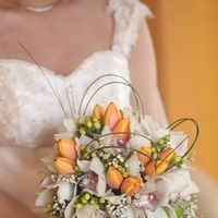 Flowers & Decor, orange, Bride Bouquets, Flowers, Bouquet, Bridal