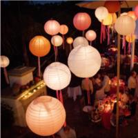 Reception, Flowers & Decor, Lanterns