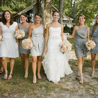 Bridesmaids, Bridesmaids Dresses, Fashion, silver
