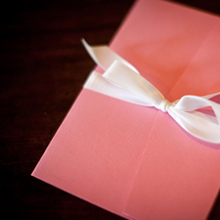 Stationery, pink, Invitations