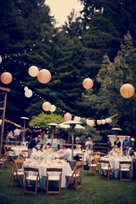Reception, Flowers & Decor, Garden, Lanterns, Outdoors
