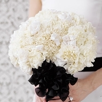 Flowers & Decor, white, black, Flowers, Boquet