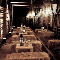 Reception, Flowers & Decor, Rustic, Rustic Wedding Flowers & Decor, Lounge, Seating, Hay bales