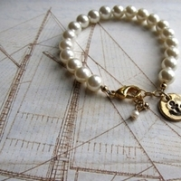 Jewelry, Bracelets, Pearls, Bracelet