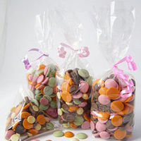 Favors & Gifts, white, orange, pink, green, brown, Favors