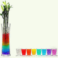 Reception, Flowers & Decor, yellow, orange, pink, red, purple, blue, green, silver