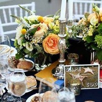 Reception, Flowers & Decor, Centerpieces, Centerpiece, Cards, Table, Post