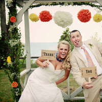 Reception, Flowers & Decor, Photobooth, Photo, You, Thank, Etsy, Props