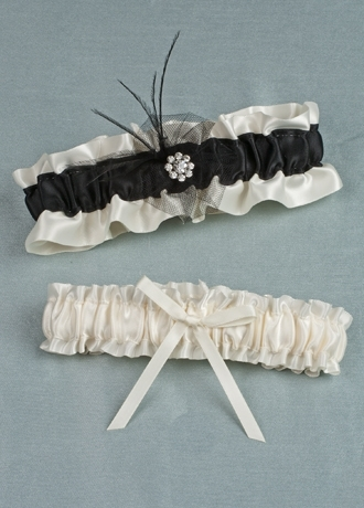 Wedding Dresses, Fashion, white, black, dress, Garter