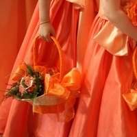 Flowers & Decor, orange, Flowers, Flower, Girl