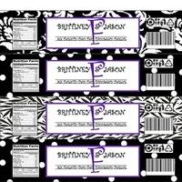 Favors & Gifts, purple, black, Favors